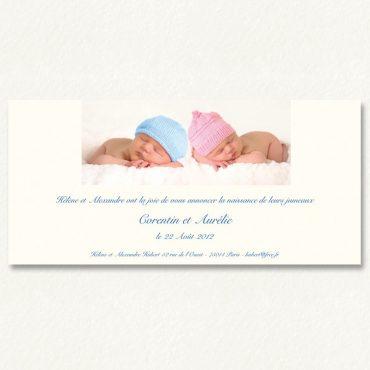 Un faire part de naissance original et personnalisé